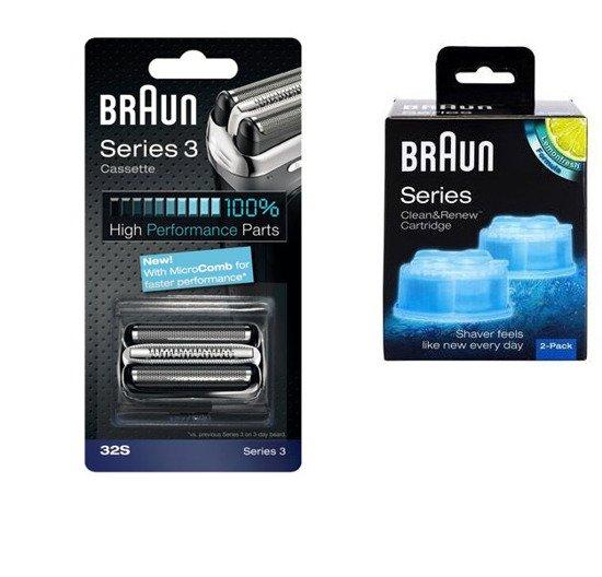 Folia + Nóż Braun 32S +BRAUN  CCR2 WROCLAW