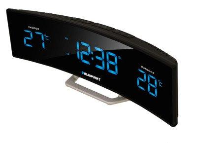 BLAUPUNKT CR12BK Radio-budzik z zewnętrznym i wewnętrznym termometrem