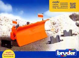 BRUDER 02582 pług śnieżny do ciężarówek SPYCH
