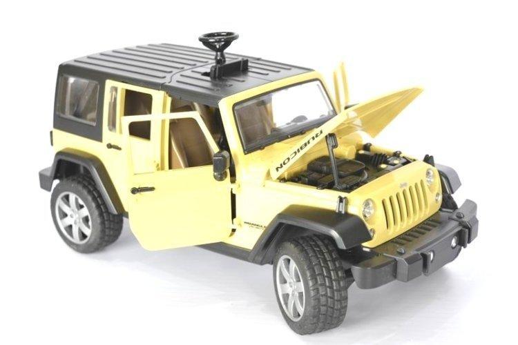 Bruder 02525 Jeep Wrangler Rubicon Czerwony