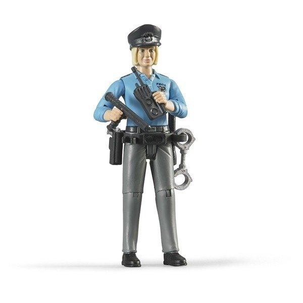 Bruder 60430 figurka policjantki z akcesoriami