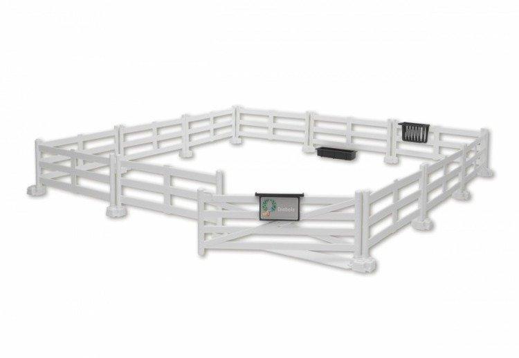 Bruder 62504 Ogrodzenie dla koni białe