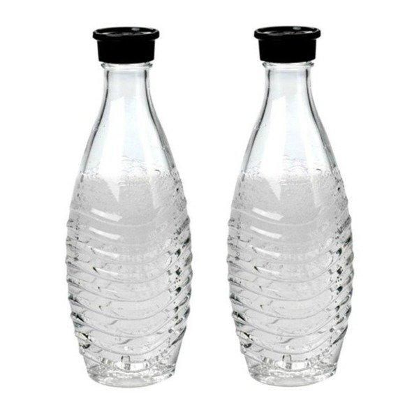 Butelka Sodastream 2 sztuki szklana karafka