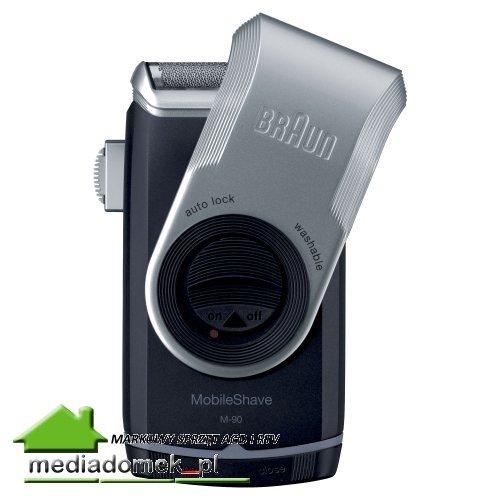 Golarka Braun M90 PocketGo dla podróżujących