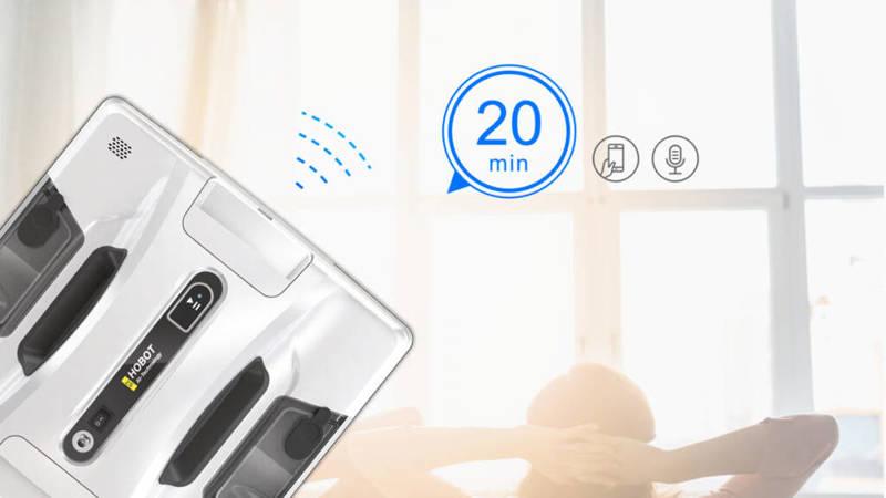 Hobot 2S Myjka do okien, szkła, płytek