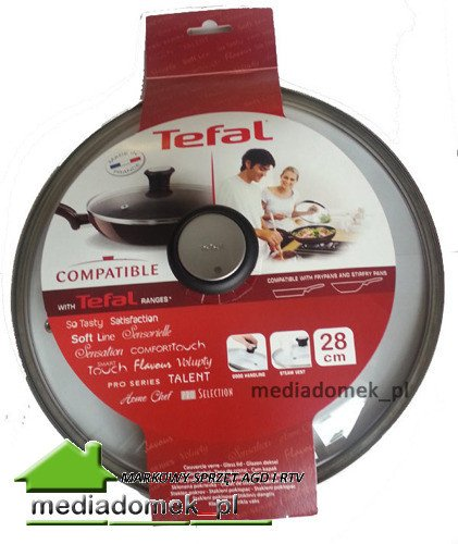 Pokrywka szklana TEFAL 28 cm 28097712
