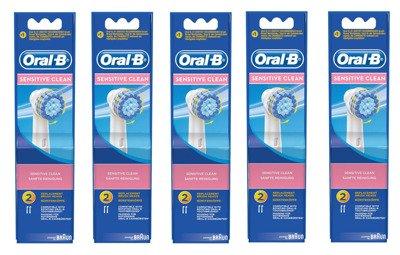 10 szt ORAL-B SENSITIVE CLEAN EBS17 100% ORYGINAŁ