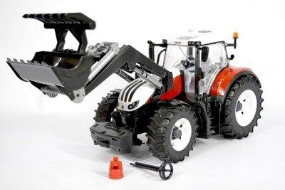 Bruder 03181 Traktor Steyr odkręcane koła+ładowacz