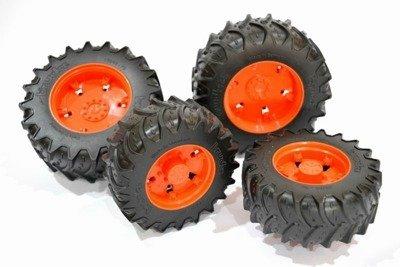 Bruder 03312 koła bliźniaki pomarańczowe Claas