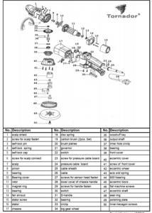 Part Nr. 31 : 601731d (D-Handle) do Tornador PH-21